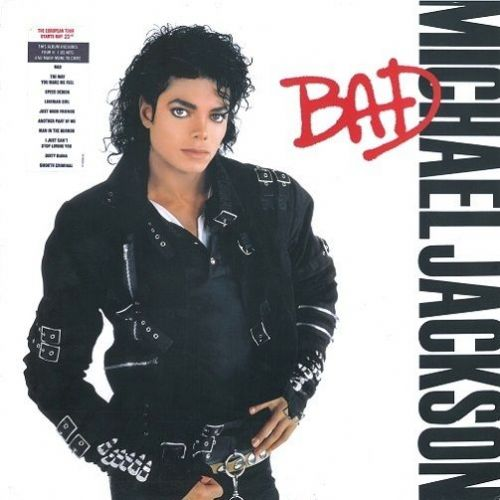 MICHAEL JACKSON Bad Vinyl Record LP Dutch Epic 1987